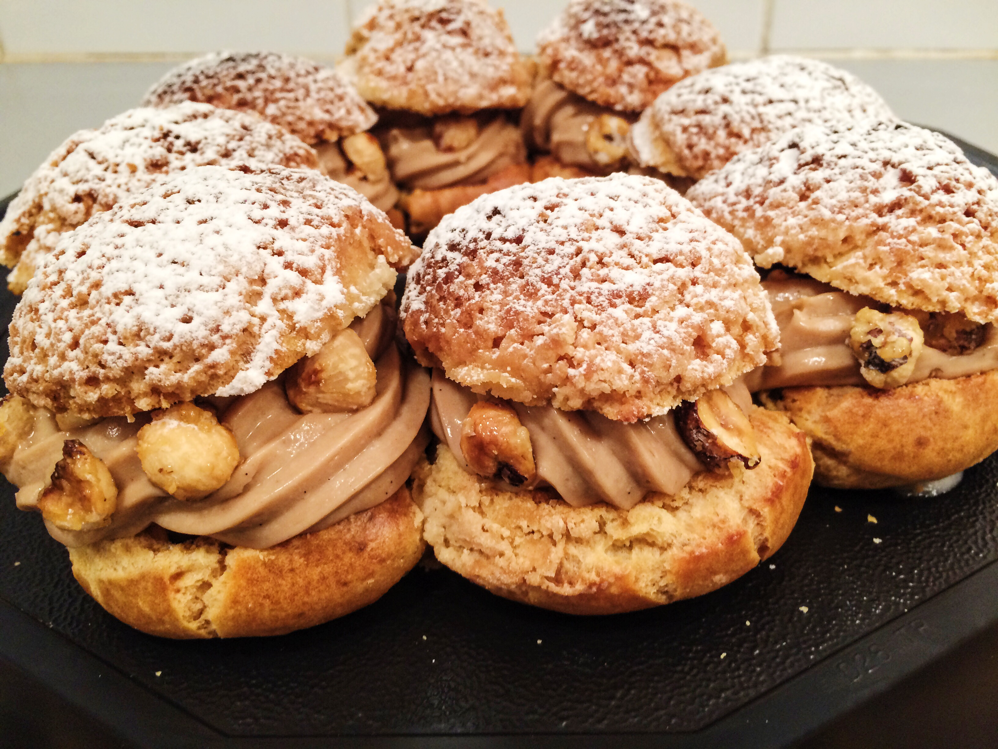 paris brest recette de philippe conticini. Black Bedroom Furniture Sets. Home Design Ideas